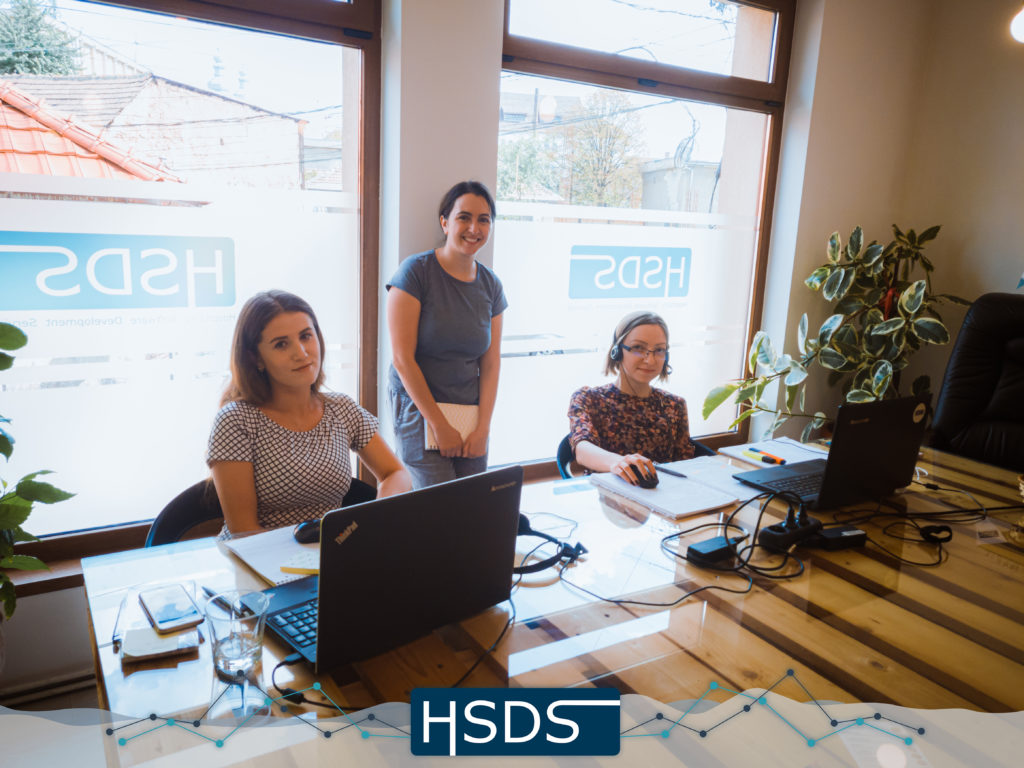 HSDS team meating - customer support