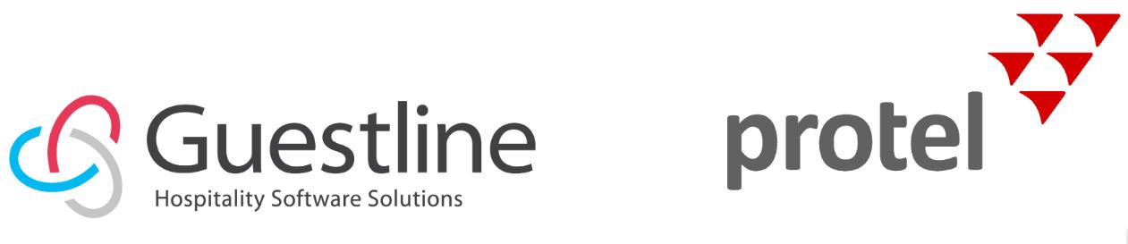 Guestline and Protel logo